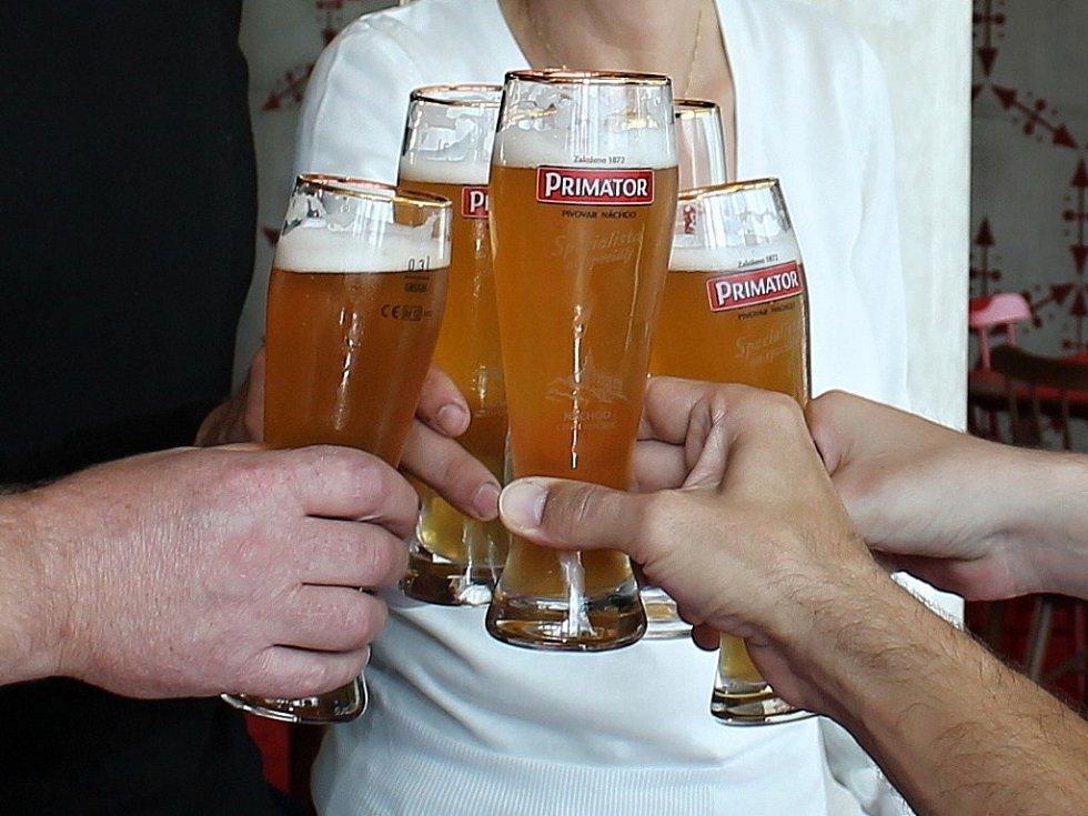 Náchodské pivo Primátor.