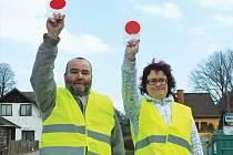 Dozor na přechodu pro chodce v Horním Kostelci u školy zajistí dva proškolení dobrovolníci.
