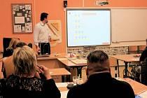 """Učitelé připravili pro rodiče hodinu """"jiné"""" matematiky."""