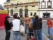 Z horolezeckého filmového festivalu v Teplicích nad Metují.