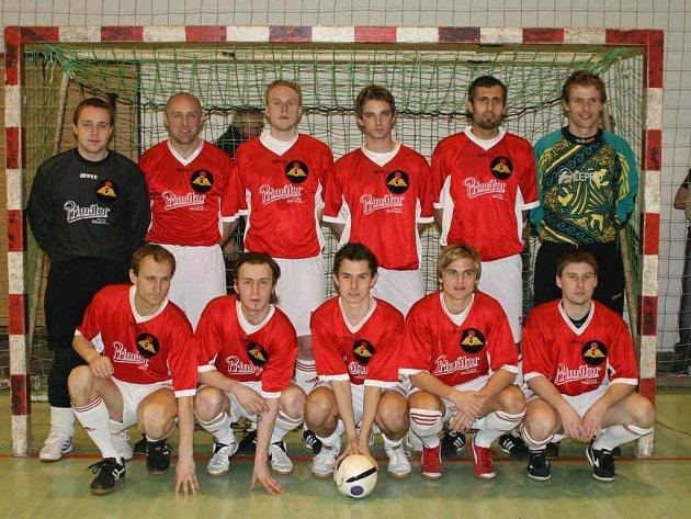 V tomto složení vstupovalo družstvo SK Goll Běloves do vyřazovací části celostátní futsalové ligy.