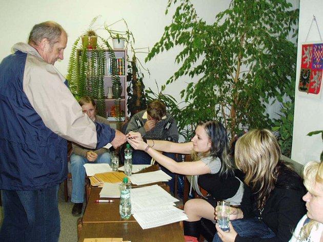 Volby 2008 v Jaroměři.