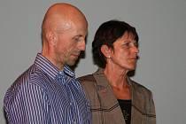 Moderátorskou dvojici slavnostního vyhlášení tvořili atletický trenér Aleš Žďárský, kterému skvěle sekundovala legendární běžkyně Jarmila Kratochvílová.
