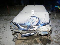 Řidič od nehody utekl.