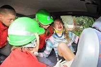 RESCUE CAMP nabízí mladým záchranářům řadu modelových situací, které přináší každodenní život.
