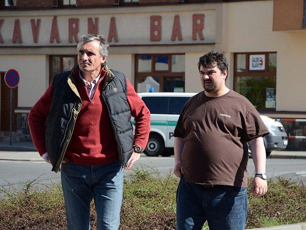 Při posledním natáčení filmu Bastardi 3 byl dopaden a zatčen učitel Majer.