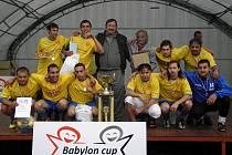 Fotbalový kolektiv Miláno Jaroměř spolu hraje již dlouho, Babylon Cup ale vyhrál vůbec poprvé.