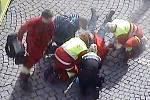Strážnice Městské policie Náchod pomohla při záchraně života.
