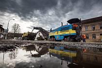 Začátek rekonstrukce silnice mezi Novým Městem nad Metují a obcí Spy