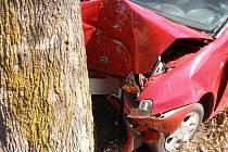 Dopravní nehoda u obce Jetřichov