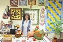 Romana se už desátým rokem intenzivně věnuje patchworku.