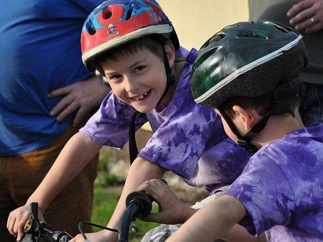 Zábavné odpoledne na dětském dopravním hřišti v Bělovsi.