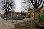 Revitalizace českoskalického náměstí.