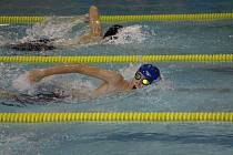 Plavec Michal Jerman zvítězil na trati.