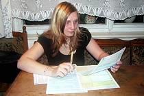 Eliška Bauerfeindová.