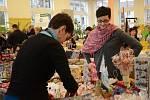 Vánoční trhy v náchodské jídelně Rubeny.