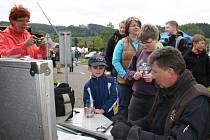 DEN S POLICIÍ připravil nejen ukázku techniky a vybavení všech záchranných složek, ale také řadu soutěží pro děti.