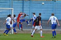 Fotbalová divize C: Náchod - Turnov.