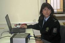 Tisková mluvčí náchodských policistů Eva Prachařová.