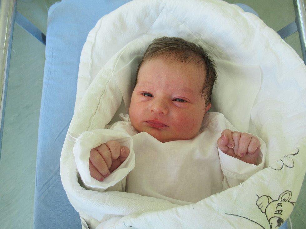 Matyáš je na světě! Narodil se v úterý 12. května 2020 v 07:08 hodin, vážil 3,34 kg a měřil 49 cm.