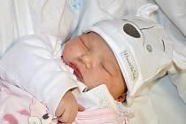 KAROLÍNA BAŠTOVÁ se narodila 21. listopadu 2014 v 01.21 hodin s váhou 4430 gramů a délkou 53 centimetrů. Šťastní rodiče Petra Pinkavová a Zdeněk Bašta bydlí spolu s holčičkou v Hronově.