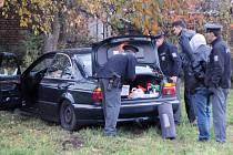 HAVÁRIE UKONČILA zběsilou policejní honičku.