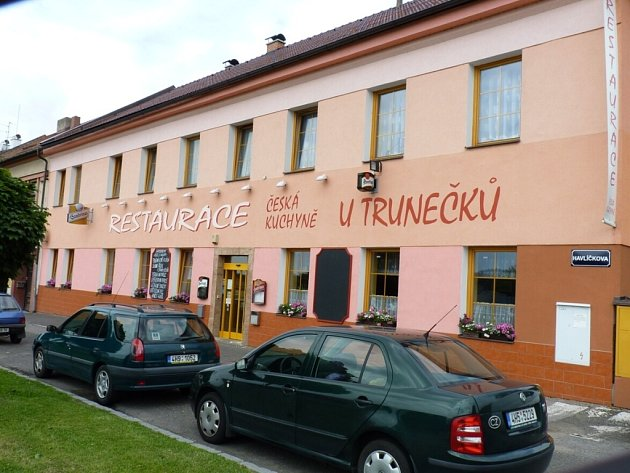 Restaurace U Trunečků.