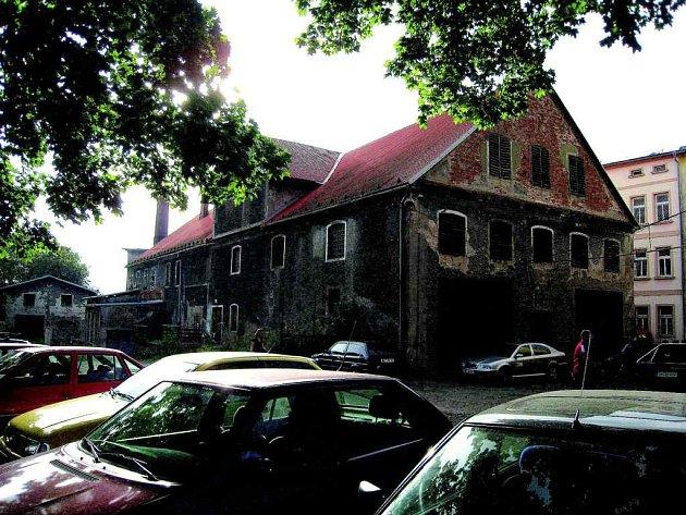 Bývalý Měšťanský pivovar (na snímku).