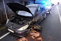Dopravní nehoda u Nového Města nad Metují