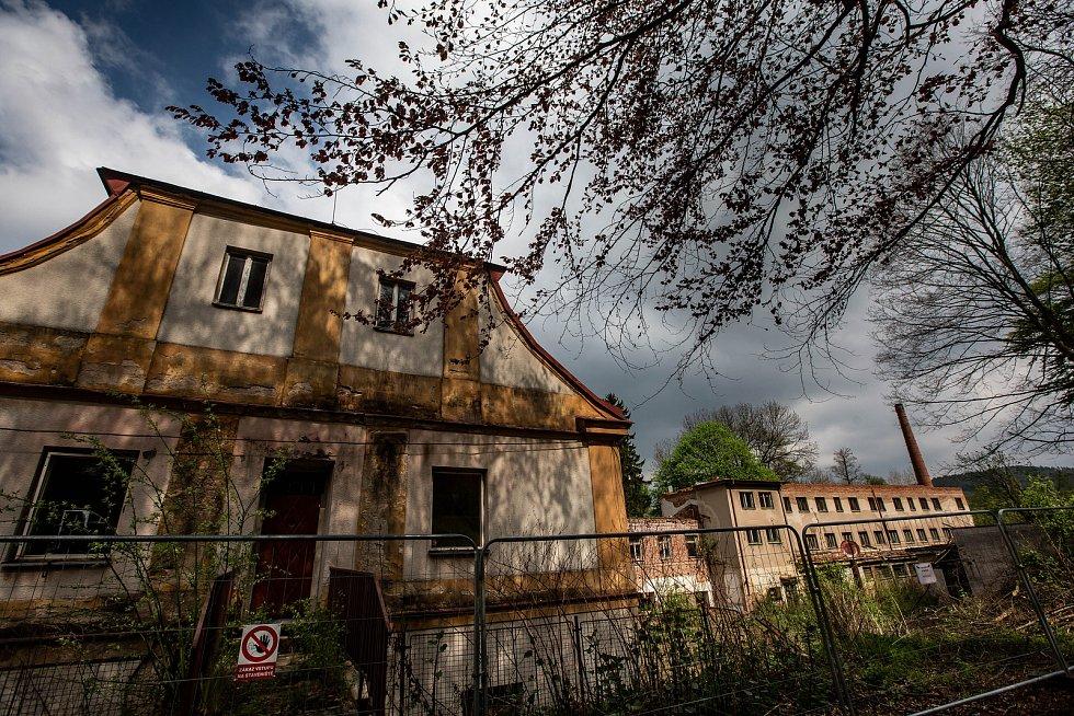 Staré lázně Náchod - Běloves.