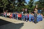 Mladí hasiči si zasoutěžili v 10. ročníku Hronovského poháru