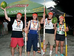 Letní biatlon štafet v Polici nad Metují přinesl spoustu komických situací a veselých okamžiků.