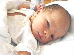 MOJMÍR MARTINEC se narodil 27. srpna 2012 v 16:30 hodin s váhou 3520 g a délkou 50 cm. S rodiči Hanou a Mojmírem a také bráškou Filipem bydlí v Opočně.