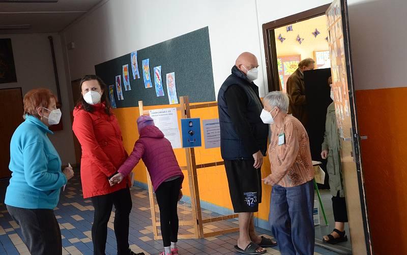 Volby v Základní škole Náchod - Plhov.