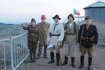 Během páteční muzejní noci se v Pevnosti Dobrošov konaly hrané prohlídky.