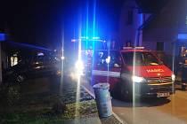 Českoskaličtí hasiči vyjížděli i na Silvestra. Časně ráno totiž zahořely saze vkomíně jednoho zdomů v Klicperově ulici.