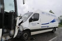 Nehoda u Nahořan.