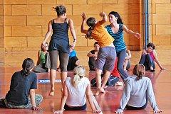 Velký zájem byl o seminář Recoveded Alchemy - Znovunabytá alchymie, který se věnuje pohybovému a tanečnímu divadlu a jehož lektor je Guillermo Horta Betancourt z Kuby.