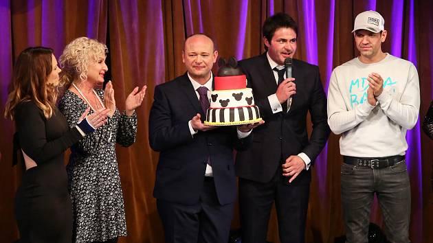 David Novotný oslavil svoje 40. narozeniny ve velkém stylu.