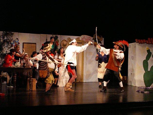 Don Quiote aneb Veselý konec rytíře smutné postavy.