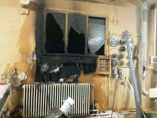 V Lachově hořela truhlárna