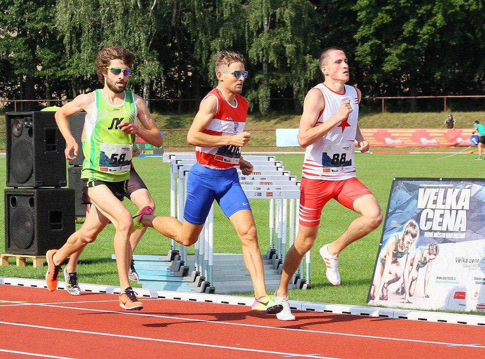 Atletická Velká cena Nového Města nad Metují nabídla výborně obsazený mítink, jehož maxima se přepisovala hned v šesti případech.