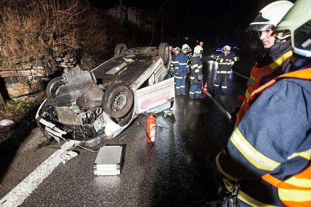 Nehoda se stala vobci Vrchoviny, a to na hlavním tahu zNového Města nad Metují do Náchoda.