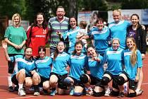 AŽ POSLEDNÍ kolo rozhodlo o tom, že národní házenkářky Krčína obhájily bronz z loňské sezóny.
