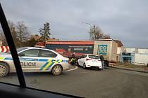 """Dopravu v Jaroměři zastavil """"ťukanec""""."""