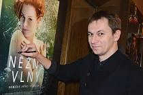 Jiří Vejdělek přivezl do Náchoda svoji novou českou komedii Něžné vlny.