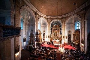 Svatou Barborou zněl hornový koncert festivalu