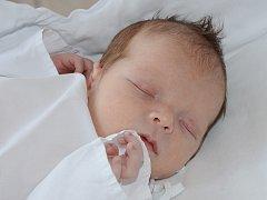 MATĚJ HLADÍK se narodil 13. července 2012 v 19:52 hodin s váhou 3430 gramů a délkou 50 centimetrů. S rodiči Michaelou Sagnerovou a Františkem Hladíkem bydlí v obci Martínkovice.