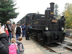 Císařský vlak v Červeném Kostelci