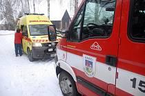 Požár v Bohuslavicích.